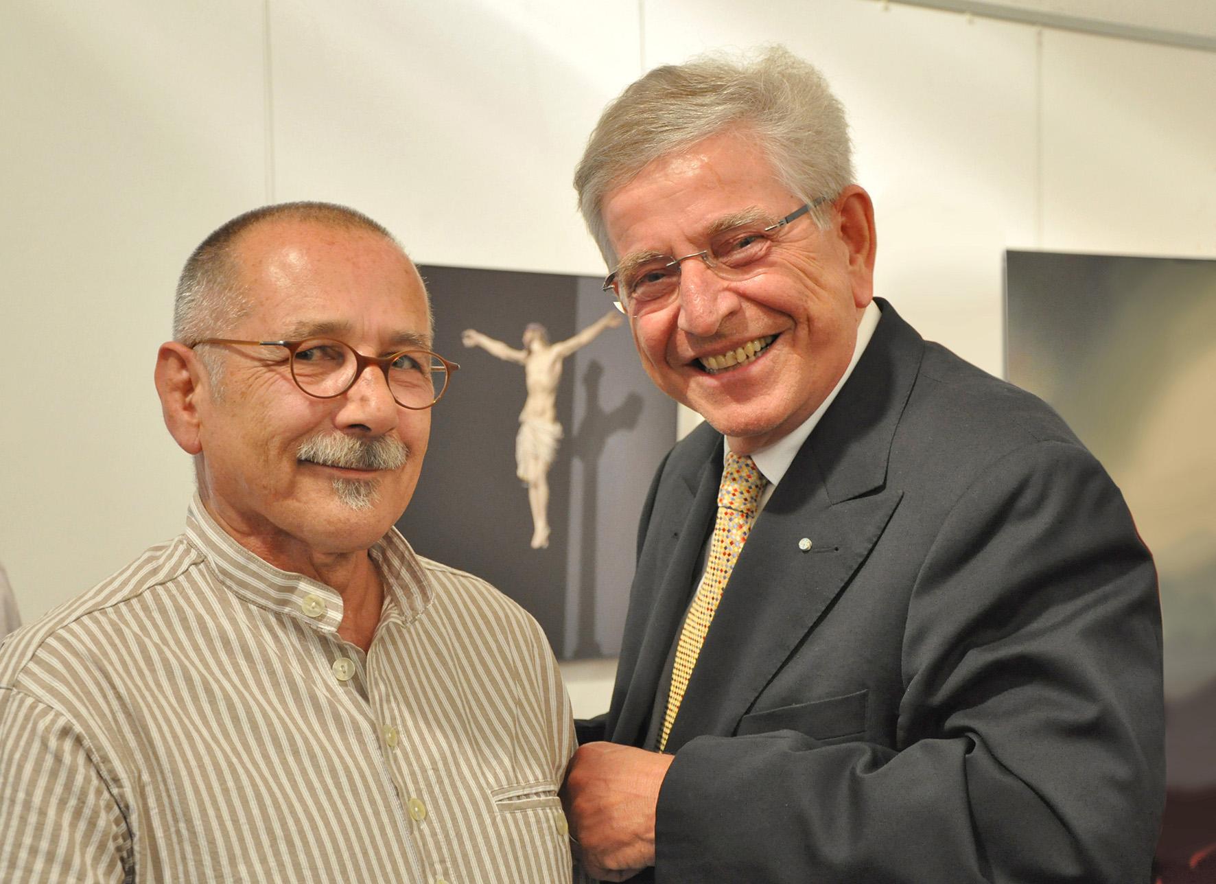 Heiner Beyer und Dr. Thomas Goppel