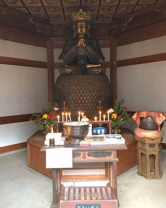 関の五郎丸こと関善光寺の大仏様