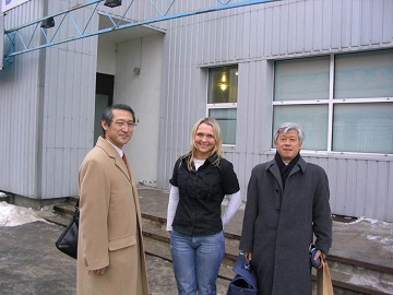 2006年2月エストニア・タリン(Skype研究所)にて