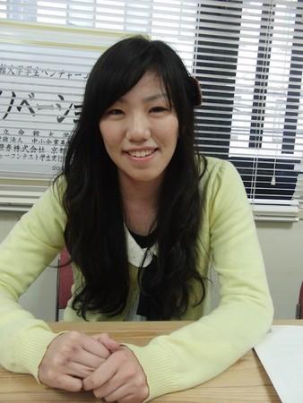 Homedoor代表川口加奈さん。大阪市立大在学中の4年生です(取材時)。