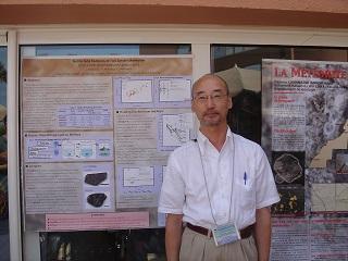 2006年モロッコでの学会にて