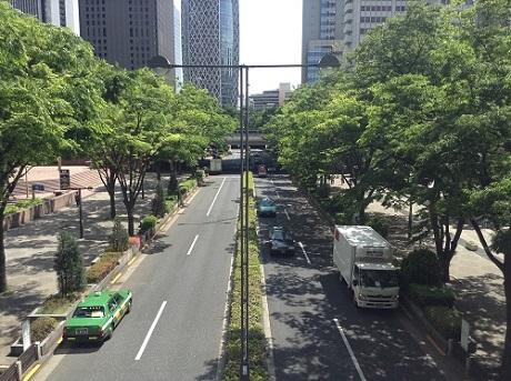新宿副都心・都庁の周辺