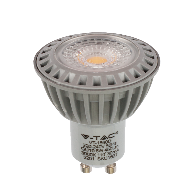 6 watt gu10 spot dimmbar for Led lampen 0 5 watt
