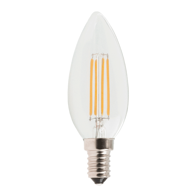 4 Watt E14 Filament Lampe - pauled.de