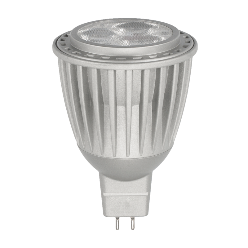 7 watt gu5 3 mr16 lampe neutralwei. Black Bedroom Furniture Sets. Home Design Ideas