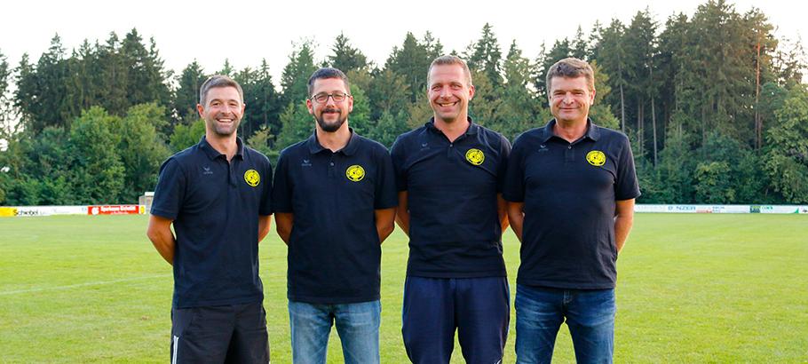 Markus Jörg, Christian Heckl, Guido Müller und Dirk Geßner