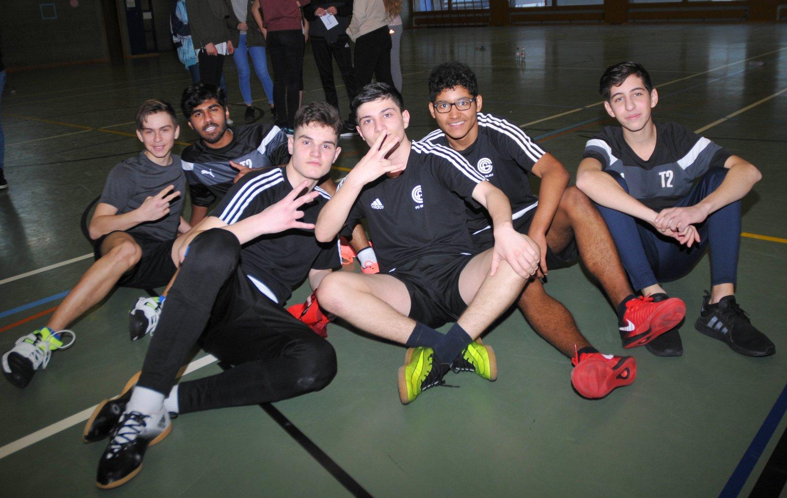 Feb. 18: Sieger im Handball-Turnier aus Schwanden