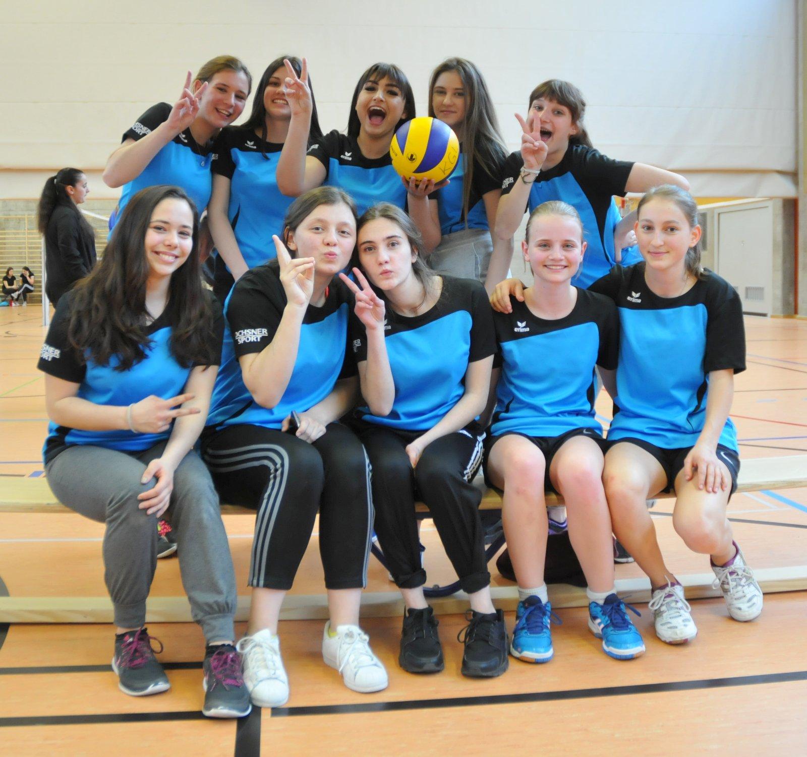 Sieger Volleyball Mädchen 2017