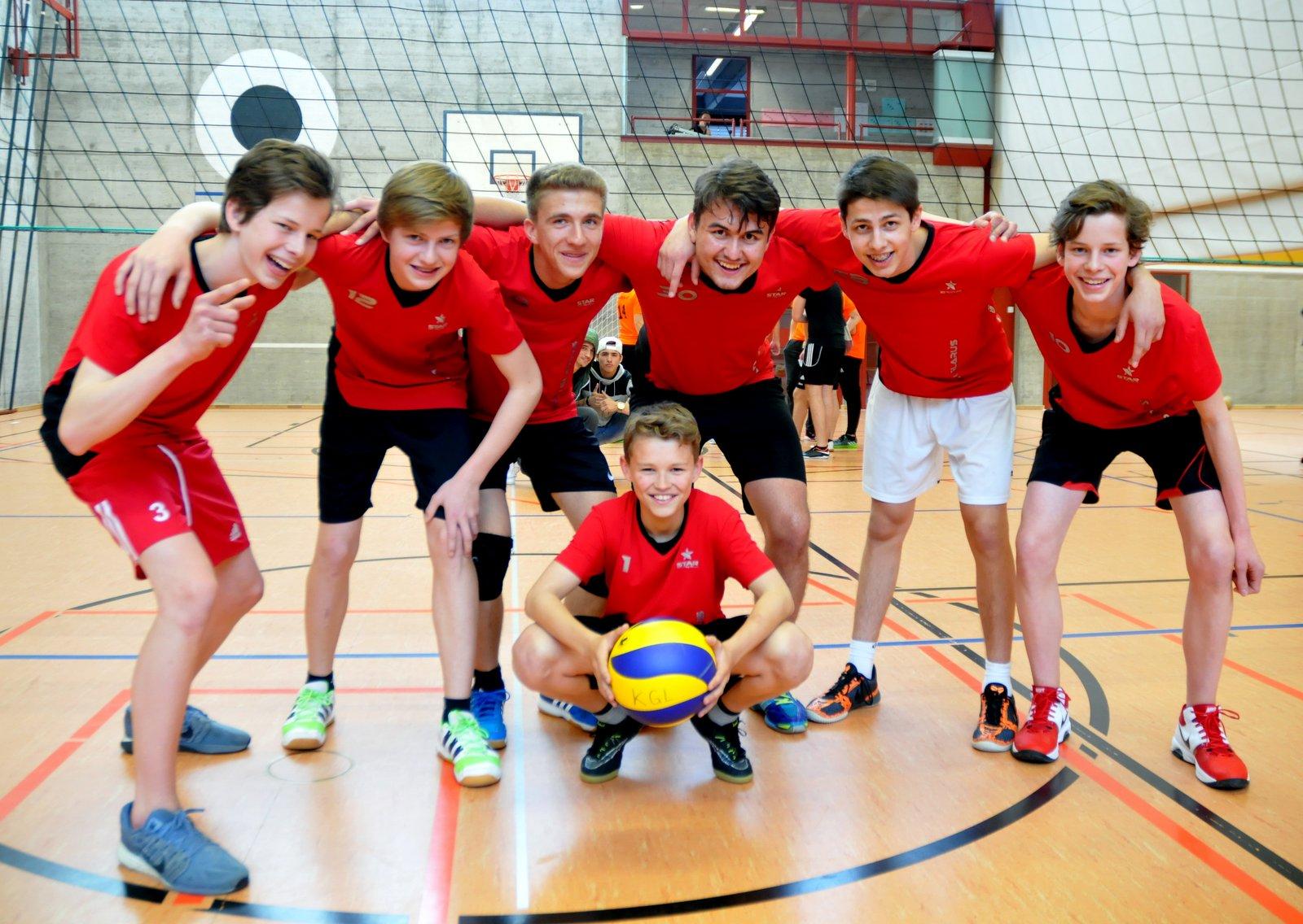 Sieger Volleyball Knaben 2017
