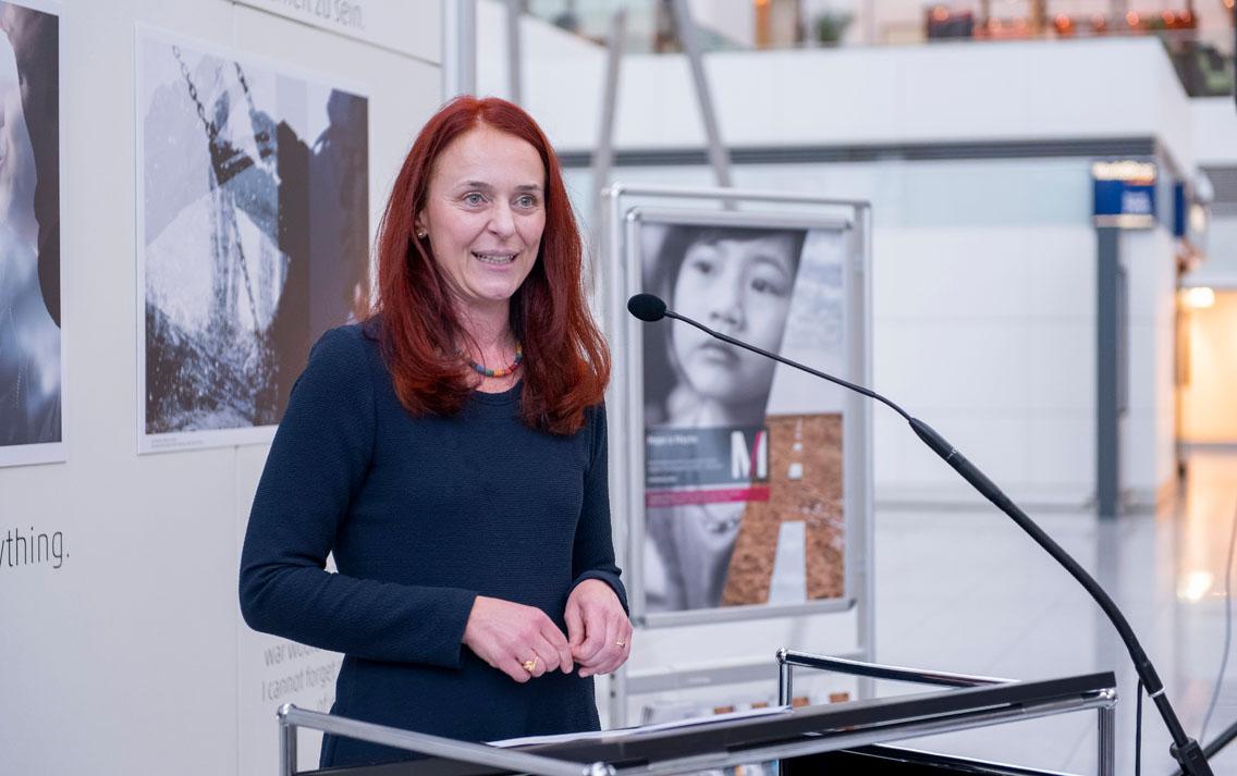 Prof. Dr. Martina Ortner von der Ostbayerischen Technischen Hochschule Regensburg - Photo: Stephan Görlich/Flughafen München
