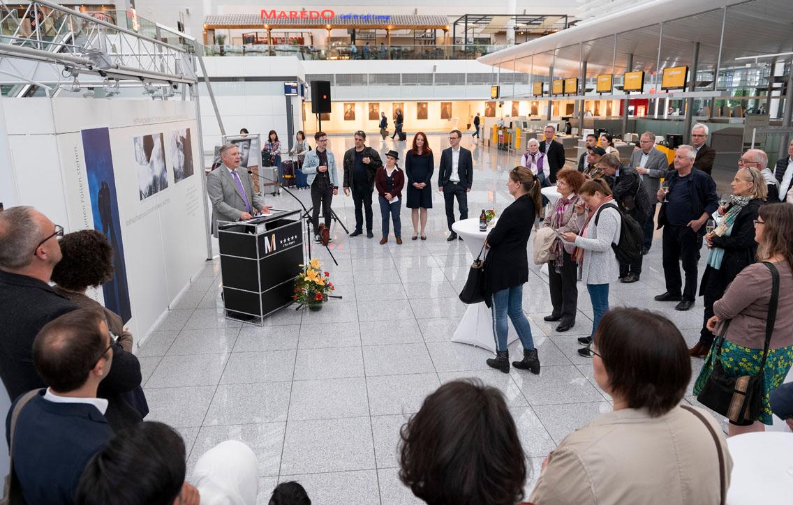 Franz Kohlhuber, katholischer Flughafenseelsorger am Münchner Airport - Photo: Stephan Görlich/Flughafen München