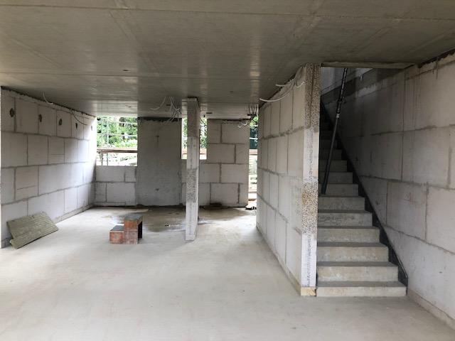 das Erdgeschoss im Doppelhaus