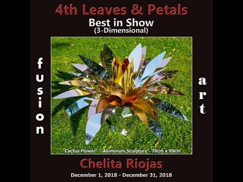 "1° Premio assoluto nella categoria 3D nel Premio ""Leaves & Petals"" a Palm Springs, USA 2018"