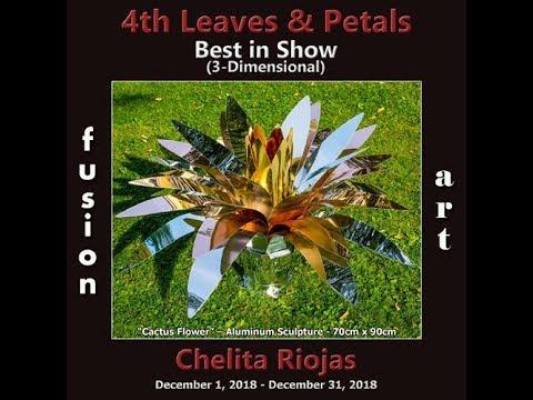 """1° Premio assoluto nella categoria 3D nel Premio """"Leaves & Petals"""" a Palm Springs, USA 2018"""