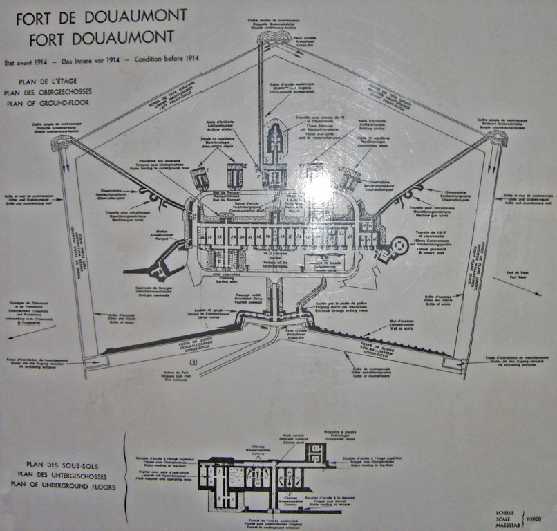 Plan des Forts