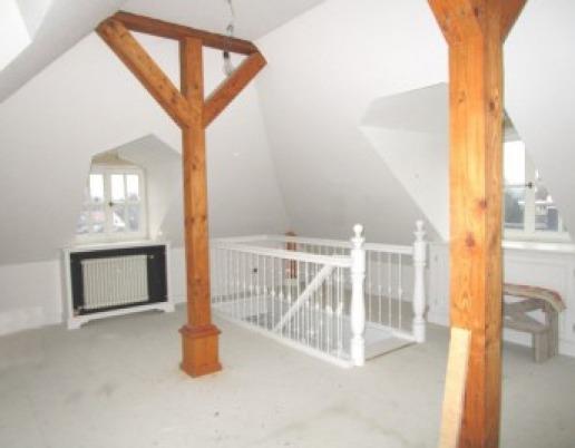 Zimmer 2 obere Etage Dachgeschosswohnung Maisonette