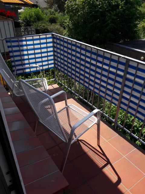 Sonniger Balkon | Vogel & Versmann Immobilien