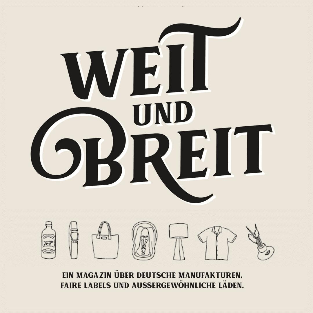 NOAKINI in der Printausgabe des Weit-und-Breit-Magazins