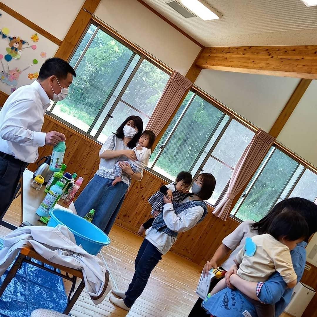 杉戸町子育て支援センター様洗濯教室