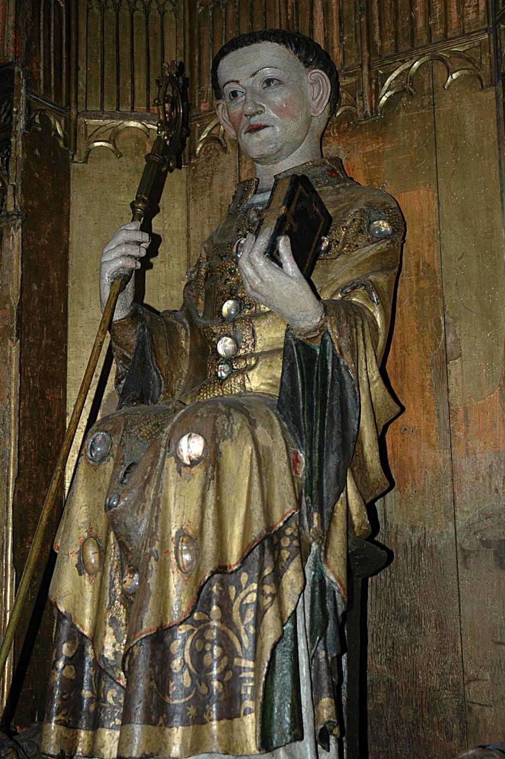Statue miraculeuse de Saint Léonard (ca 1300)