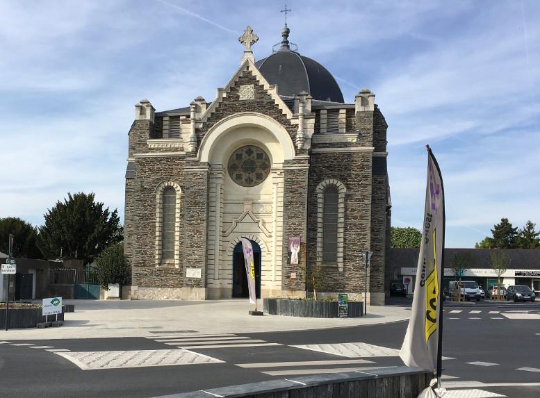 The Church of Saint Leonard at Angers