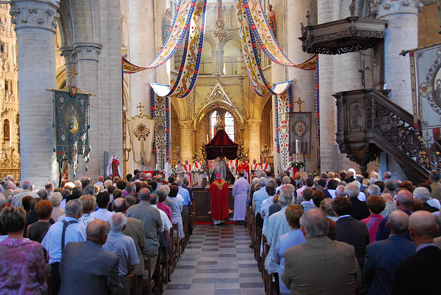 Fête de Saint Léonard à Léau, le lundi de Pentecôte