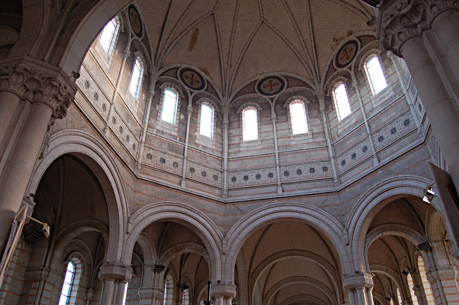 The dome seen from the interior