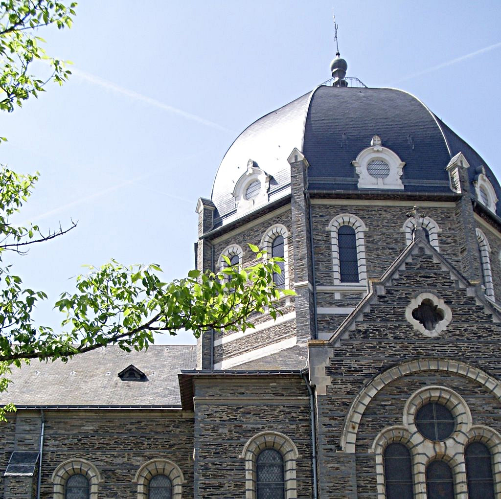 The dome seen from the exterior