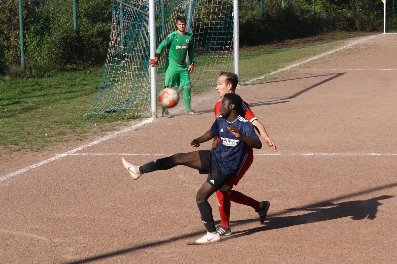 Dillian Acquah für den FSV am Ball.