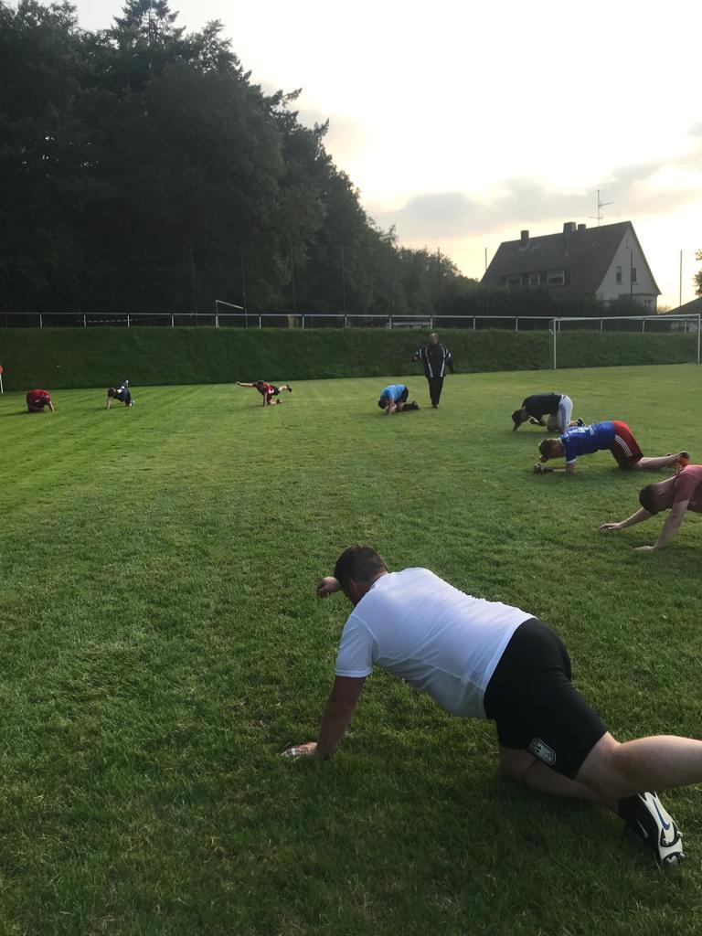 Kraft- und Stabilisationsübungen sind fester Bestandteil des Trainingsprogramms (2)