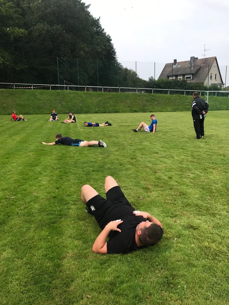 Kraft- und Stabilisationsübungen sind fester Bestandteil des Trainingsprogramms (3)