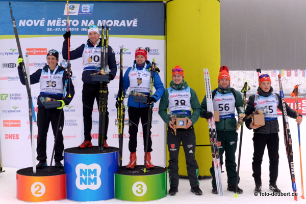Podium Sprint Junioren