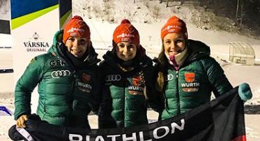 Hanna Kebinger, Marina Sauter und Sophia Schneider - Foto: facebook