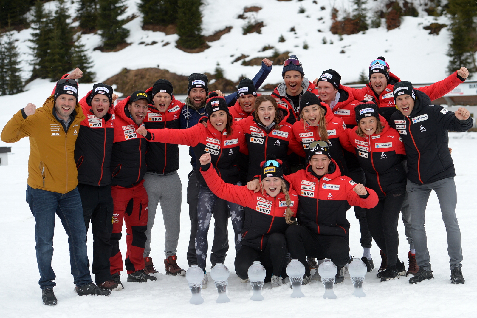 Team Schweiz - Foto: © Harald Deubert