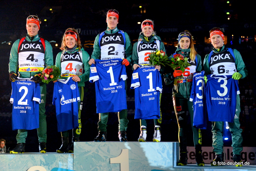 Podium - German Team Challenge auf Schalke
