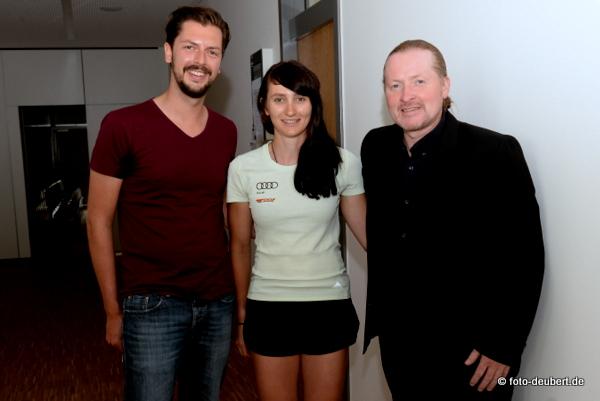 Maximilian Lang, Juliane Frühwirt und Joey Kelly Foto: © Harald Deubert