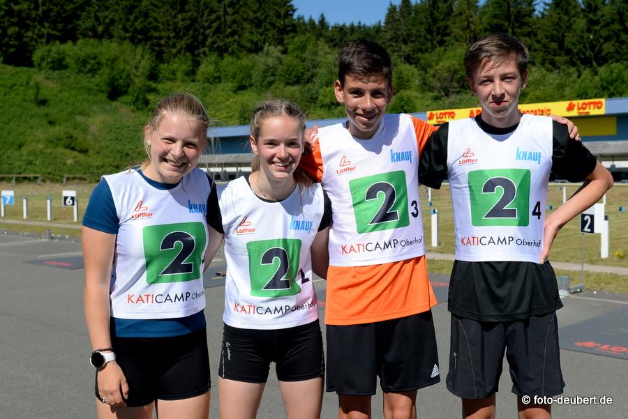 Georgy Langer (Hessen)  Julia Otto (Niedersachsen)  Samuel Kraatz (Thüringen)  Raphael Heiland (Bayern)