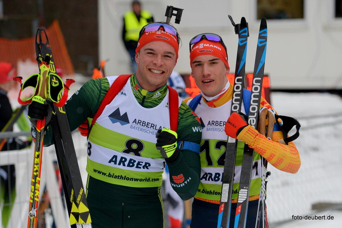 Max Barchewitz und Julian Hollandt (GER) - Foto: © Harald Deubert