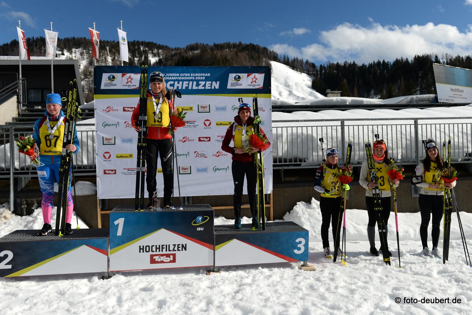 Amina Ivanova (RUS), Anna Gandler (AUT), Joanna Jakiela (POL), Tereza Vobornikova (CZE), Juliane Frühwirt (GER), Maria Zdarkova (BUL) - Foto: © Harald Deubert