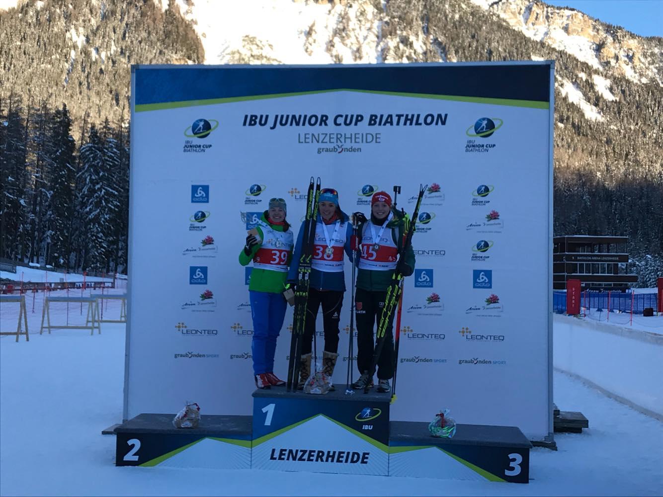 IBU JUNIOR CUP Lenzerheide - Foto: © Arena Lenzerheide