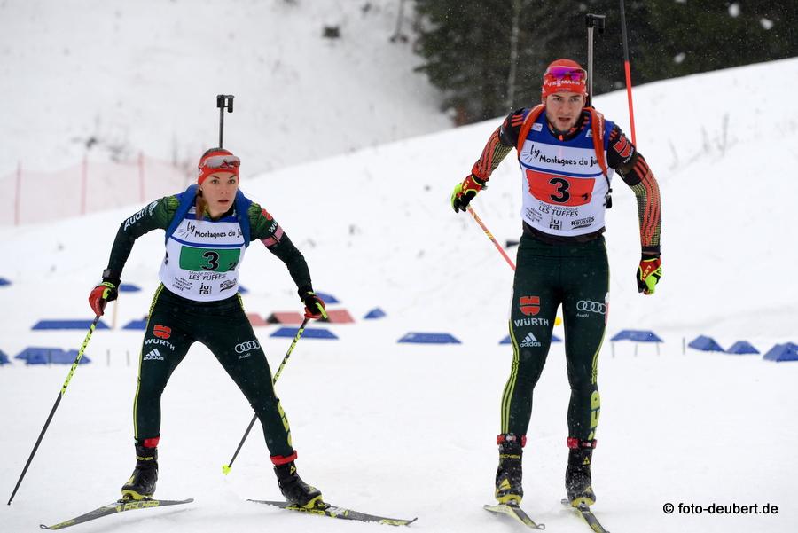 Hanna Kebinger und Danilo Riethmüller - foto: © harald deubert