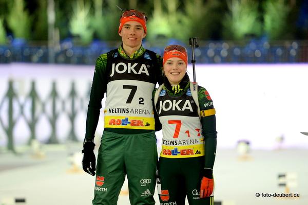 Philipp Lipowitz und Franziska Pfnür - German Team Challenge auf Schalke