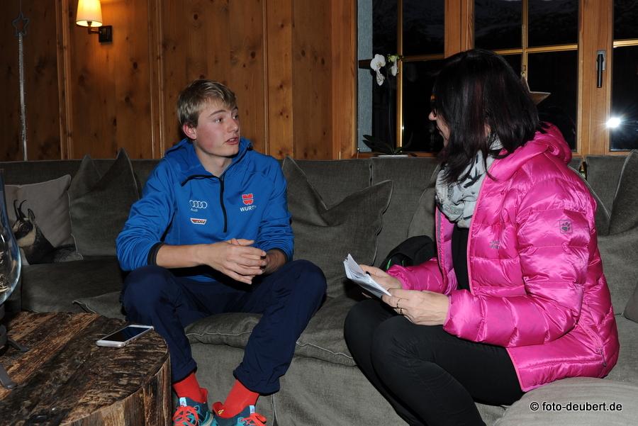 Sven Lohschmidt im Gespräch mit Ilka Schweikl