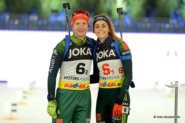 Tim Grotian und Vanessa Voigt - German Team Challenge auf Schalke