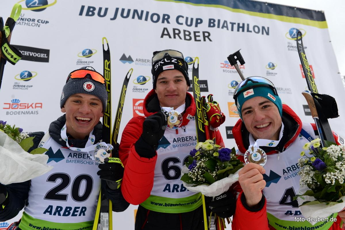 Vaclav Cervenka (USA), Niklas Hartweg (SUI), Magnus Oberhauser (AUT) Foto: © Harald Deubert