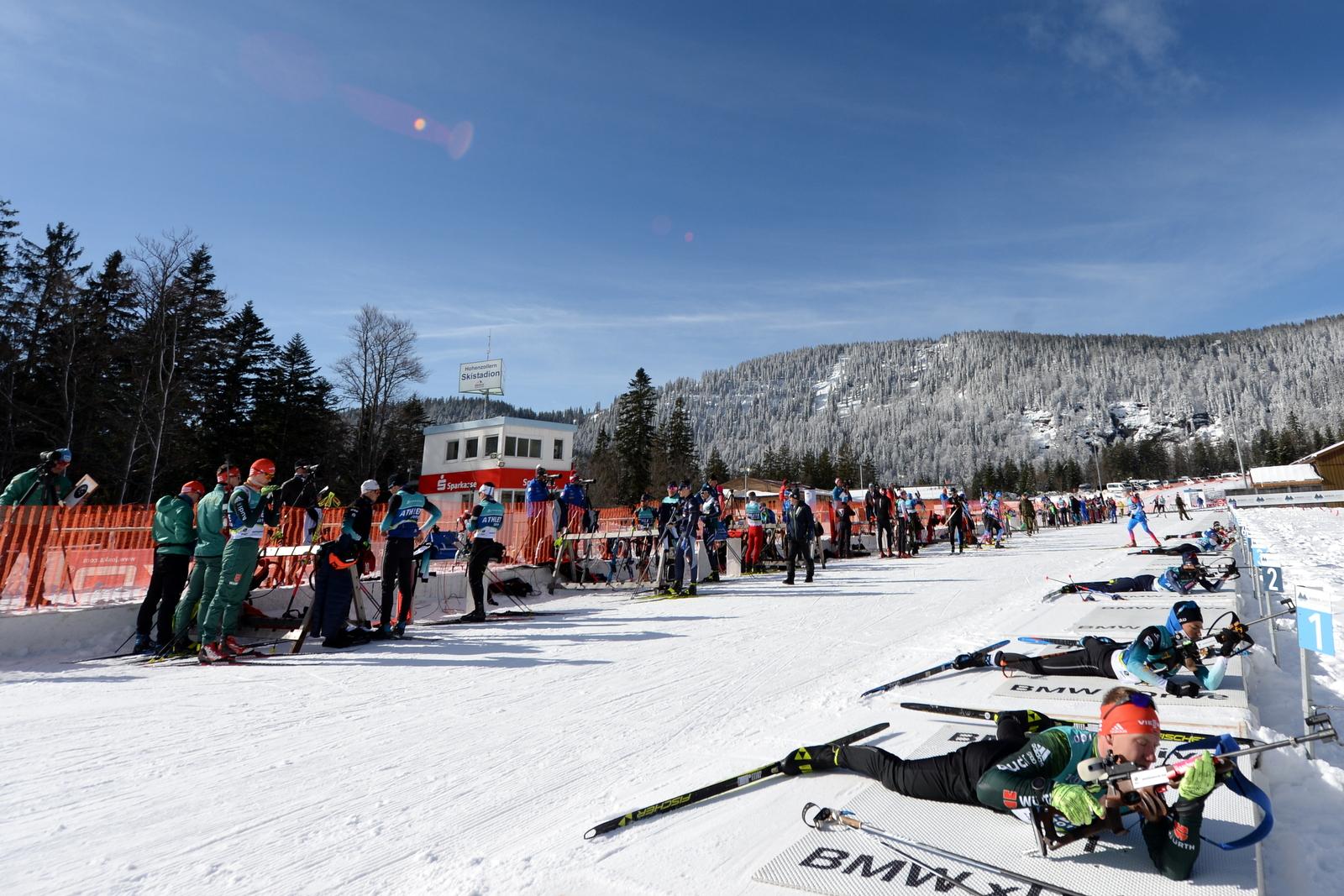 Hohenzollern Skistadion Arber