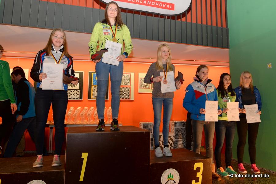 Sprint - Jugend I – AK 16 weiblich