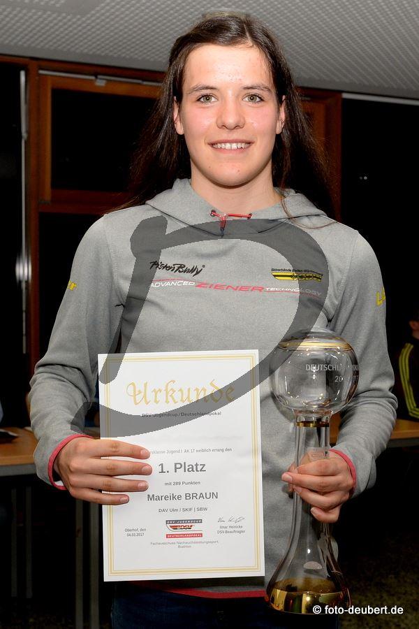 Mareike Braun (DAV Ulm, SBW)