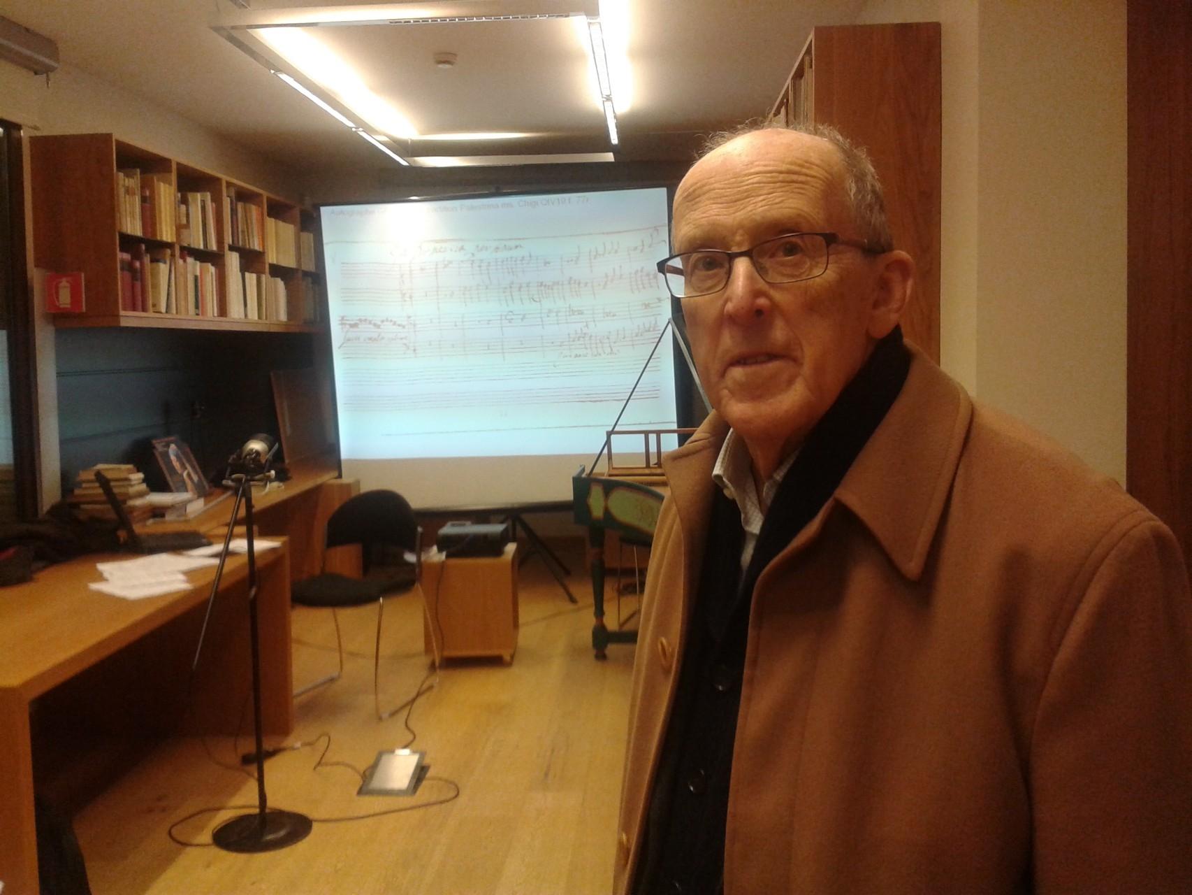 Lugi Ferdinando Tagliavini (1929-2017), illustre organista, docente e musicologo