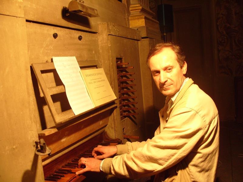 Fausto Caporali, organista della Cattedrale di Cremona